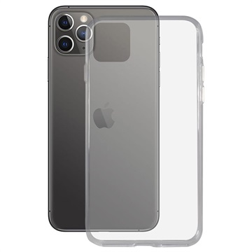 Cover Ultra Sottile in TPU Ksix Flex per iPhone 11 Pro Max - Trasparente