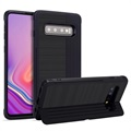 Custodia Ibrida Layered Kickstand per Samsung Galaxy S10+