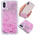 iPhone X Liquid Glitter Mirror TPU Case