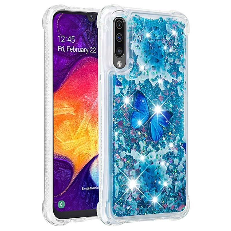 Cover in TPU Liquid Glitter per Samsung Galaxy A50