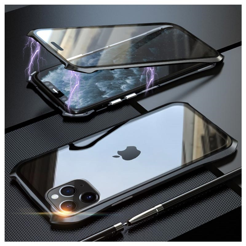Luphie Tempered Glass Magnetic iPhone 11 Pro Case
