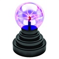 Magic Plasma Ball Sphere Lamp with Touch Sensor