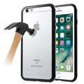 Cover Magnetica con Retro in Vetro Temperato per iPhone 6/6S - Nera