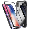 Cover Magnetica con Retro in Vetro Temperato per iPhone X