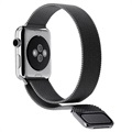 Cinturino Milanese Magnetico per Apple Watch Series 4/3/2/1 - 44mm, 42mm - Nero