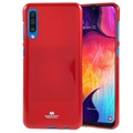 Mercury Goospery Jelly Samsung Galaxy A50 TPU Case - Red
