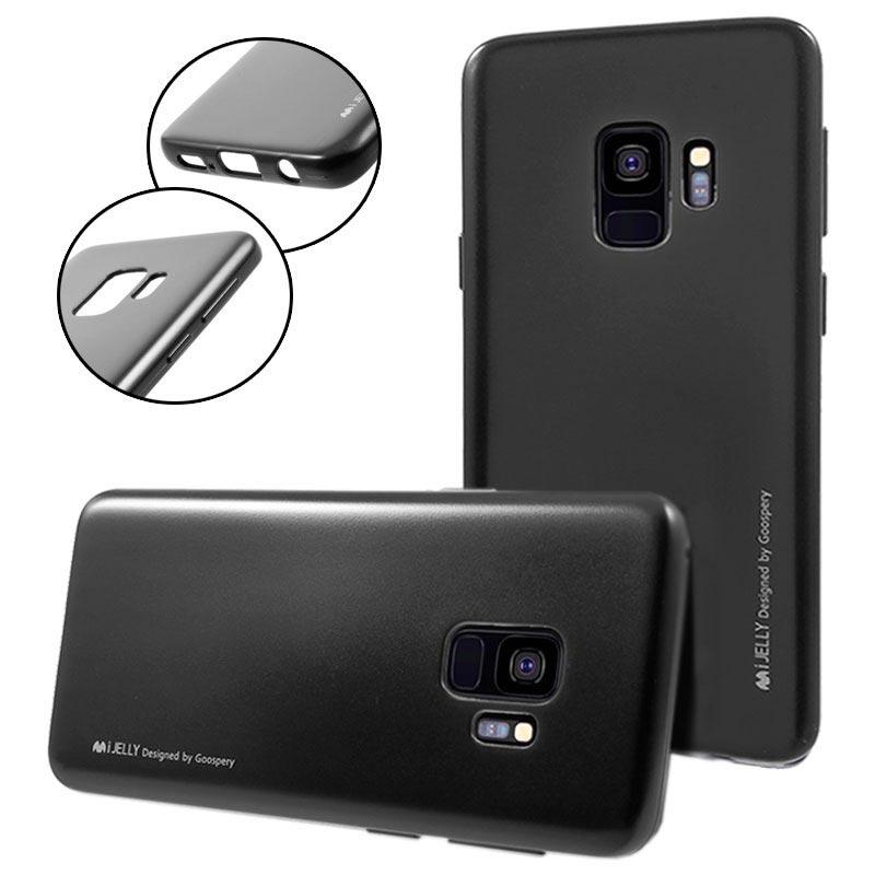 Book Cover Goospery Samsung I Black : Cover mercury goospery ijelly per samsung galaxy s