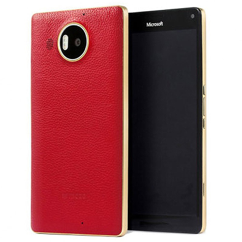 runs the mozo microsoft lumia 950 qi wireless charging back cover far the