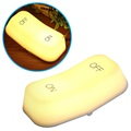 Muid On/Off Switch LED Night Light with Gravity Sensor - 450mAh - Yellow