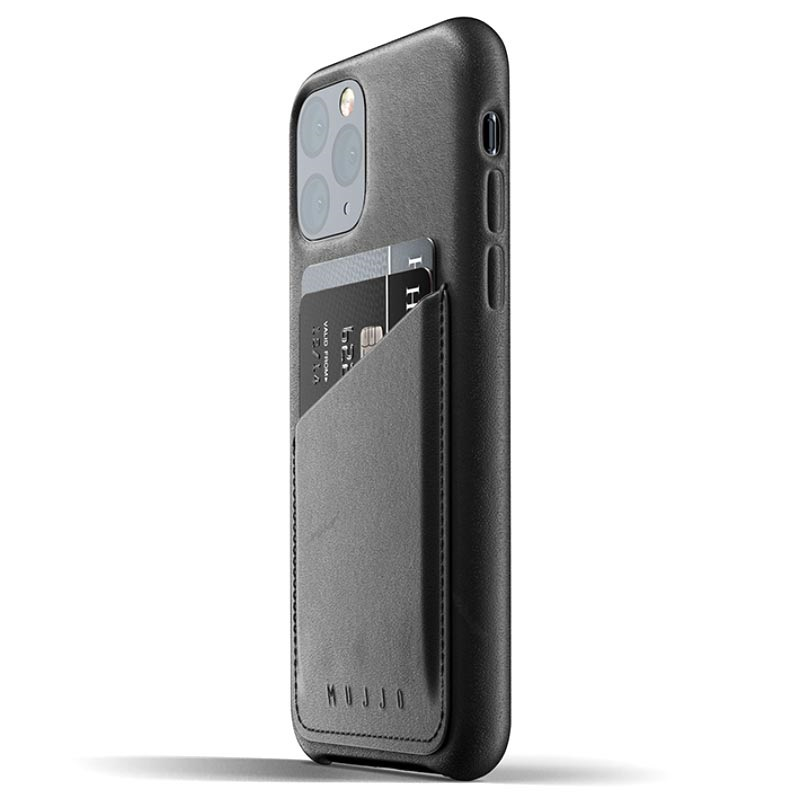 Custodia in Pelle iPhone 11 Pro Mujjo Wallet