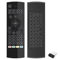 3-in-1 Wireless Air Mouse, Keyboard & Remote Control TK668