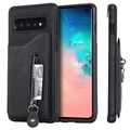 Samsung Galaxy S10 Multifunctional TPU Case with Stand