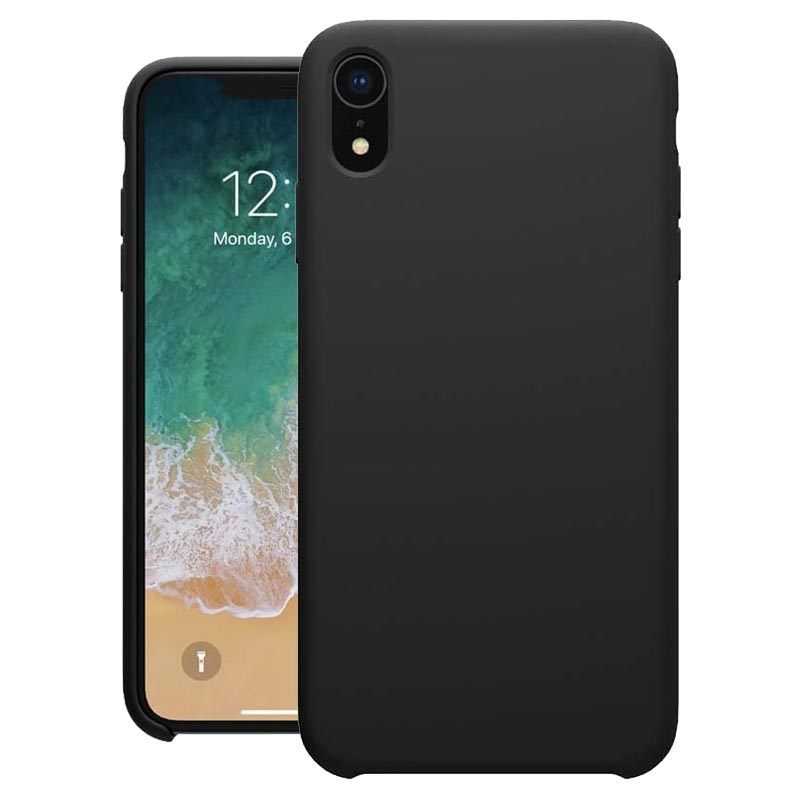 Nillkin Flex Pure iPhone XR Liquid Silicone Case - Black