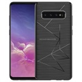 Cover di Ricarica Wireless Nillkin Magic per Samsung Galaxy S10+ - Nera