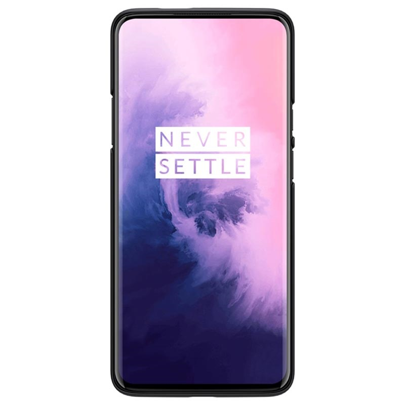 Cover Nillkin Super Frosted Shield per OnePlus 7 Pro - Nera