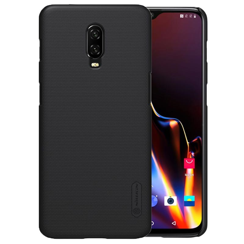Cover Nillkin Super Frosted per OnePlus 6T - Nera