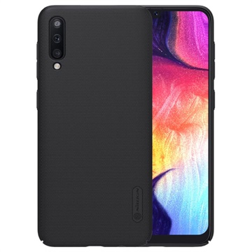 Cover Nillkin Super Frosted Shield per Samsung Galaxy A50 - Nera