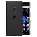 Cover Nillkin Super Frosted Shield Sony Xperia XZ3 - Nera
