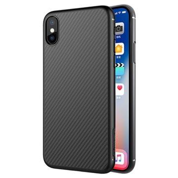 custodia iphone x in carbonio