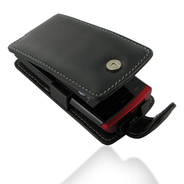 Nokia 500 PDair Leather Case - Black
