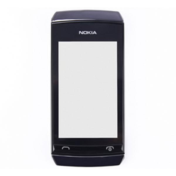 Cover Frontale per Nokia Asha 305, Asha 306 - Grigia