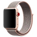 Apple Watch Series 5/4/3/2/1 Nylon Strap - 40mm, 38mm - Rose Gold