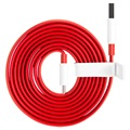 Cavo Tipo-C OnePlus Warp Charge 5461100012 - 1.5m - Rosso / Bianco