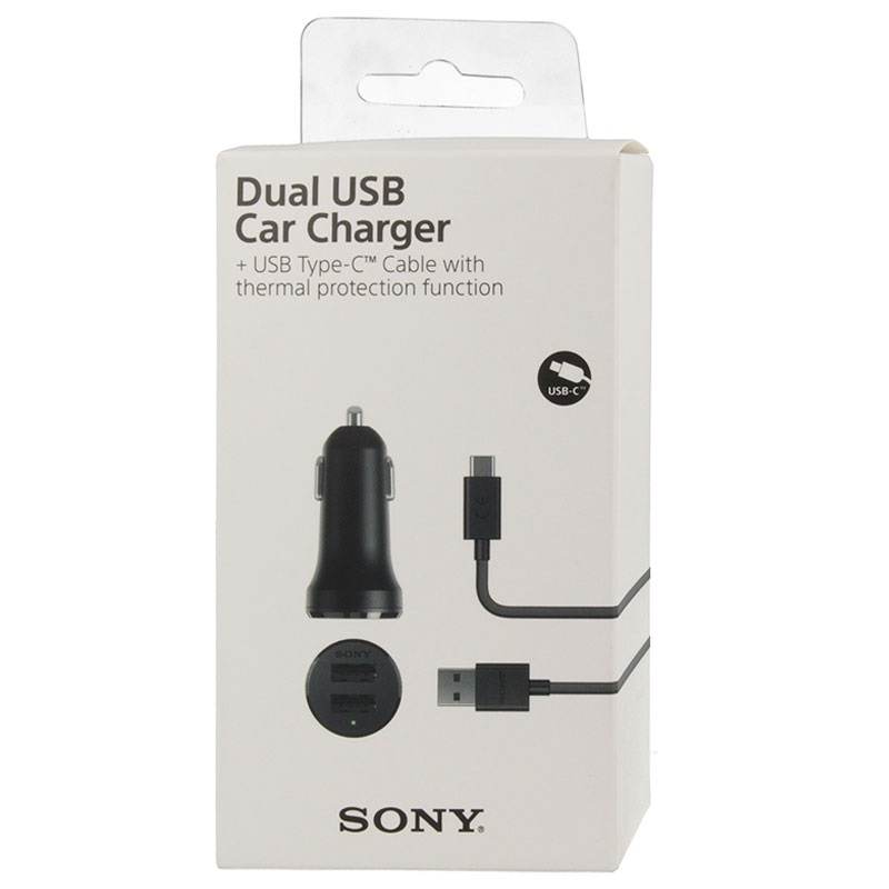 Caricabatterie per Auto Dual USB Sony AN430 - 4.8A