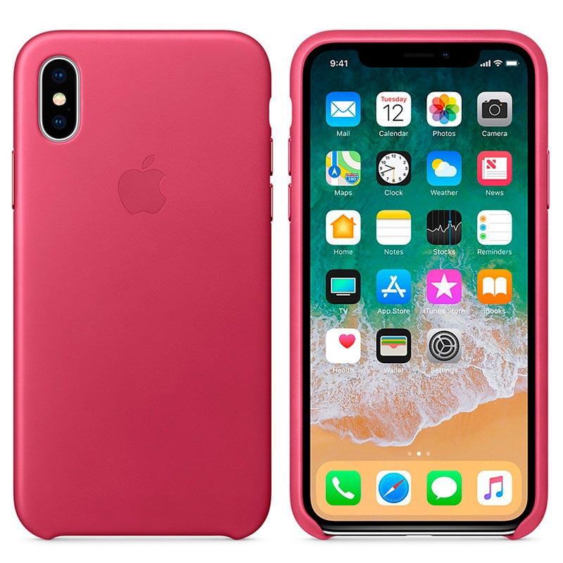 custodia iphone x originale apple in pelle