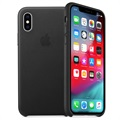 Custodia in Pelle Apple per iPhone XS MRWM2ZM/A - Nero
