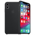 Cover in Silicone Apple per iPhone XS MRW72ZM/A - Nero