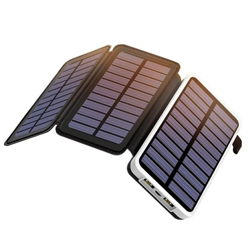 Outxe EP300 Solar Charger / 10000mAh Power Bank with 2x USB