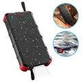Power Bank Outxe Savage 20000mAh Quick Charge Rugged - Nero / Rosso