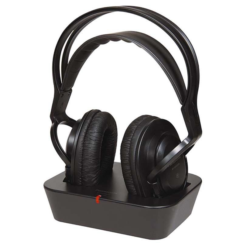 Cuffie wireless panasonic rp wf830 nere for Panasonic cuffie