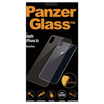 iPhone XR PanzerGlass Back Tempered Glass Protector - Clear