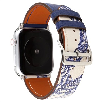 Cinturino in Pelle Pattern per Apple Watch Series 5/4/3/2/1 - 42mm, 44mm