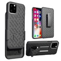 Patterned Series iPhone 11 Pro Max Case with Belt Clip - Black
