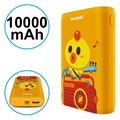 Power Bank Elegante Pisen Meatball - 10000mAh - Arancione