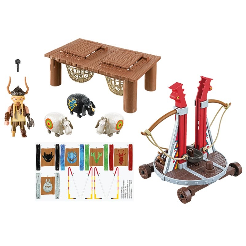 Playmobil Dragons 9461 Gobber the Belch with Sheep Sling