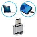 Portable USB 3.1 Type-C / MicroSD OTG Card Reader