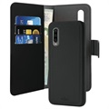Puro 2-in-1 Magnetic Huawei P30 Wallet Case - Black