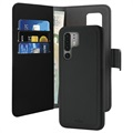 Puro 2-in-1 Magnetic Huawei P30 Pro Wallet Case - Black