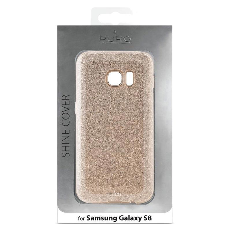 custodia glitter oro galaxy s8