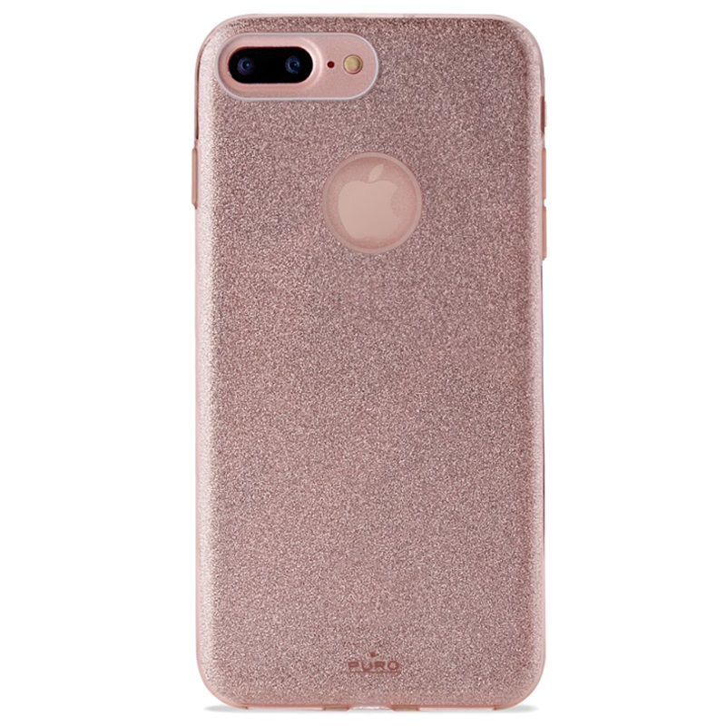 custodia iphone 7plus glitter