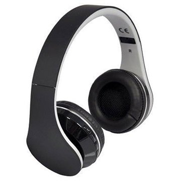 Cuffie Stereo Bluetooth Rebeltec Pulsar - Nere