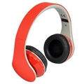 Cuffie Stereo Bluetooth Rebeltec Pulsar - Rosso
