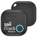 Saii iTrack Motion Alarm Smart Key Finder - Nero