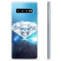 Custodia TPU per Samsung Galaxy S10+ - Diamante