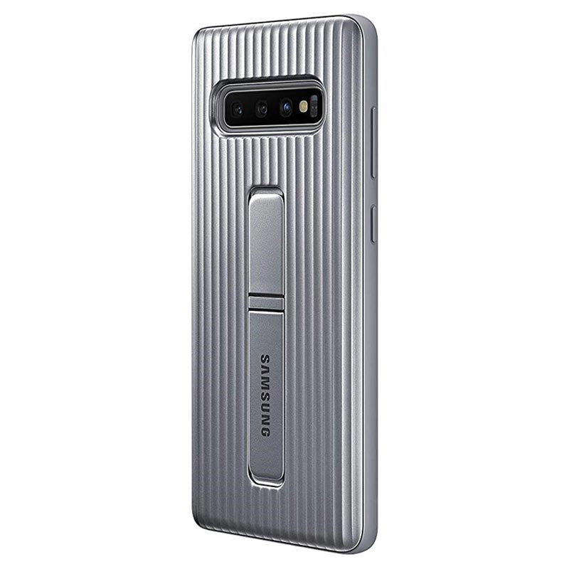 Samsung Galaxy S10+ Protective Standing Cover EF-RG975CSEGWW - Silver