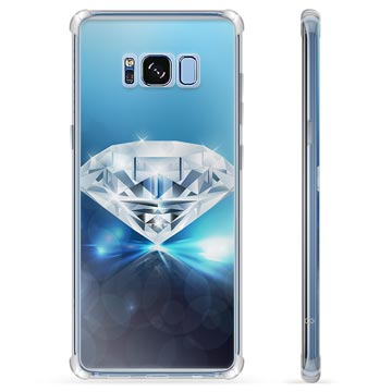 Custodia Ibrida per Samsung Galaxy S8 - Diamante